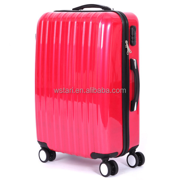 Trolley luggage,trolley suitcase, Aluminum trolley makeup case