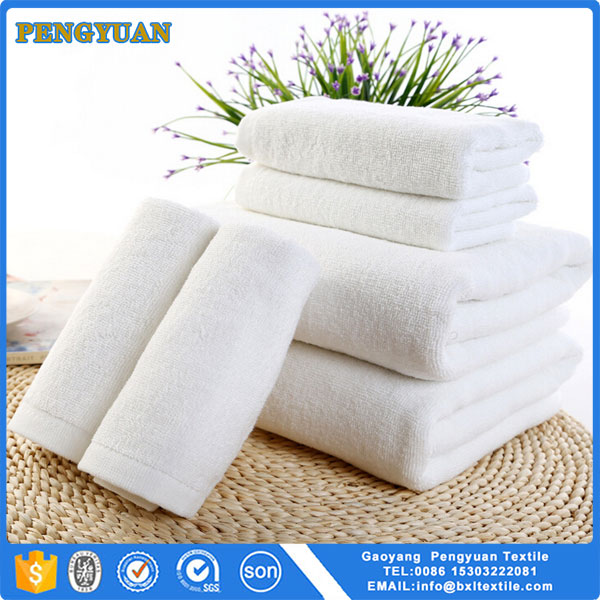 Cheap price 100 cotton towels white fancy low cost 100% cotton hotel 21 bath towels