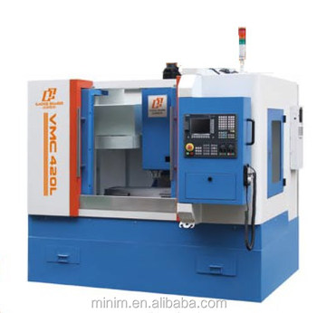 2017 stock VMC 420L 3 axis cnc milling machine with SIEMENS828D controller