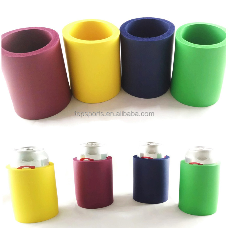 Foam rubber can cooler/NBR can holder/universal can holder