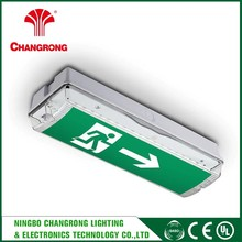elevator led emergency exit light emergency battery backup exit sign led signs