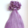 Lilac Hot Fusion Pre-bonded Human Hair Extension U-TIP/NAIL TIP Remy Hair