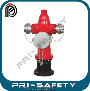 Laning type Water System used 3 Way Fire Hydrant