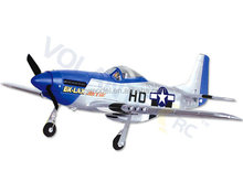 Full Scale RC Airplane Mustang P51D 750mm Warbird 768-1