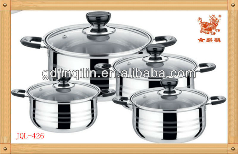 high quality product kitchen cookware large cooking pots for sale from China