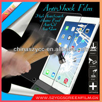 5H-6H High Anti-Scratch Clear Film Anti-Shock Screen Protector For Ipad5 Ipad Air