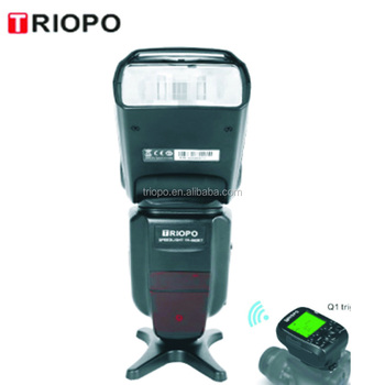 TRIOPO TR-600RT 2017 new product camera flash light and speedlite with Dual mode TTL for DSLR camera