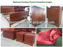 Customized MBR-1378 American Style Bedroom Furniture
