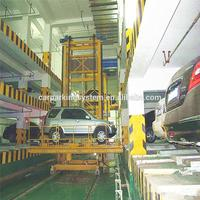 automatic stacker car parking equipment car garage park parking system