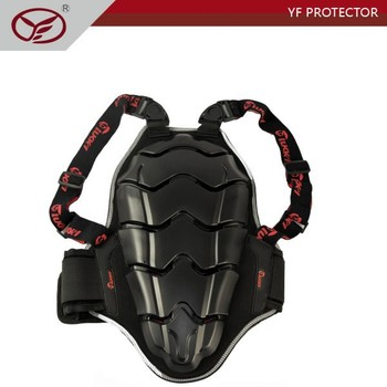 Kids and Youth size Motocross Back Support On-road Motoracing Strap CE Back Protector