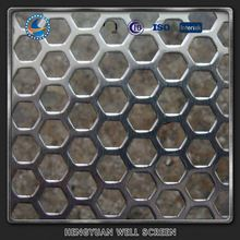 Background Wall Decor 2mm Stainless Steel Perforated Metal Screen Sheet