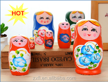 Hot sale Russian wooden nesting dolls
