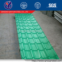 zinc coated sheet for roof black color