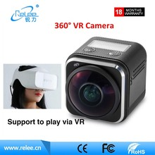 Traveller 360 VR dual lens camcorder outdoor wifi waterproof sports action camera