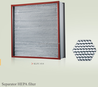 hepa filter exhaust fan hepa filter box glass filter g4