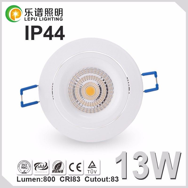 anti glare lens led downlight design for Sweden with 83mmm cutout sells well 2700k 3000k warm white