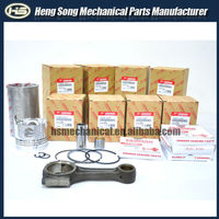 Engine Cylinder liner kit 4D84 3D84 for YANMAR low price genuine original quality