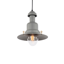 Grey cabin metal glass guard pendant lights