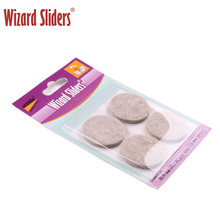 Customized Package And Sizes Self Adhesive Reusable Furniture Feet Felt Pads