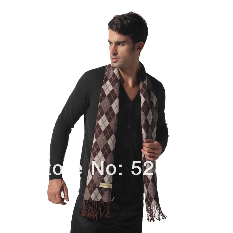 Custom Latest Italy Scarves Design Mens Bamboo Scarf
