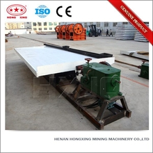 Double deck copper aluminum shaking table benefication