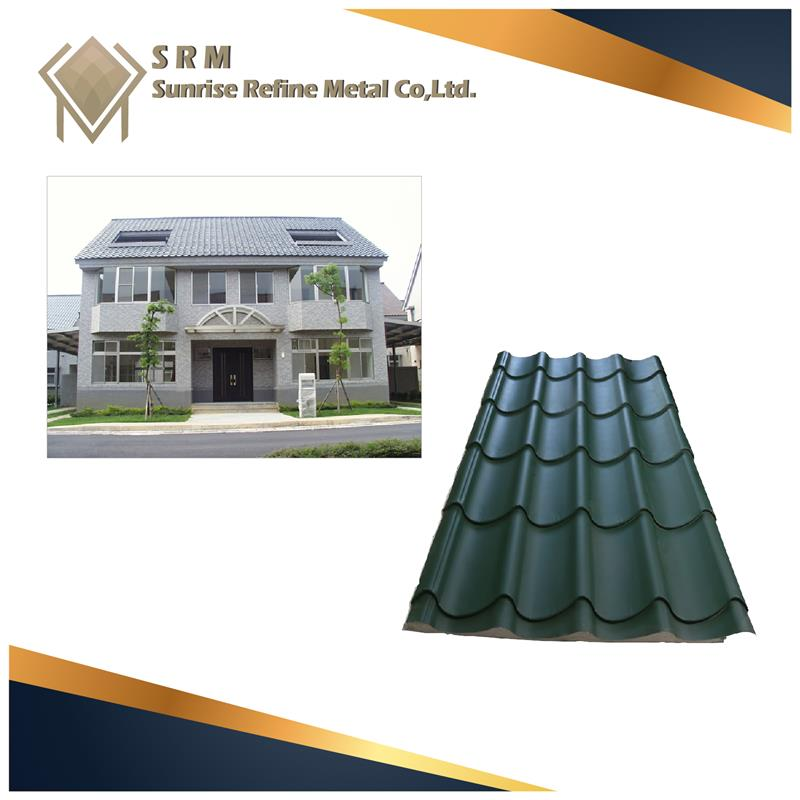 New product 2017 metal roofing materials With Long-term Service