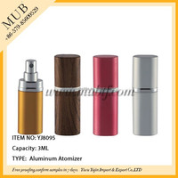 many color can be choose spray aluminum bottle manufacturer