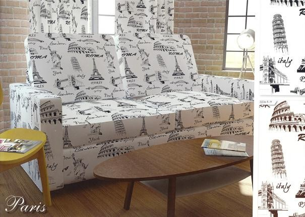 City Design Polycotton Fabric - Upholstery - Curtain