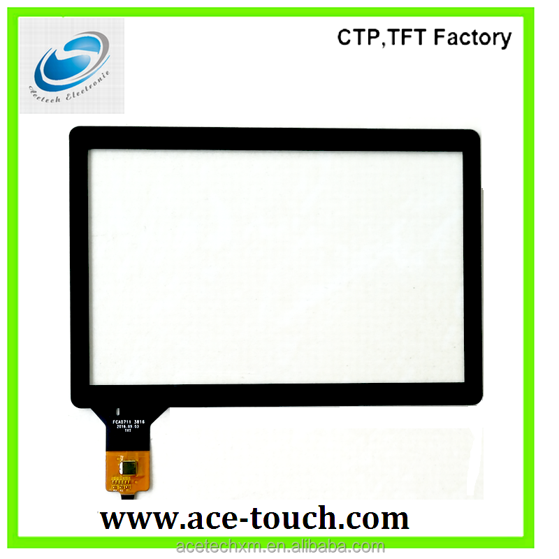 8 inch projected capacitive touch panel screen