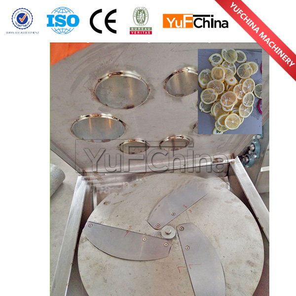 Size Adjustable Melon, Banana, Eggplant Cutting Slicing Shredding Machine