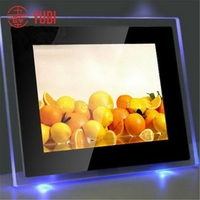 Top quality best sell backlit poster frameless acrylic frame