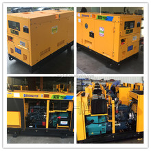 Home Used Diesel Silent Moveable Generators 15kw for sale