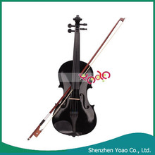 Alibaba China Wholesale Professional Student 4/4 Acoustic Violin Black