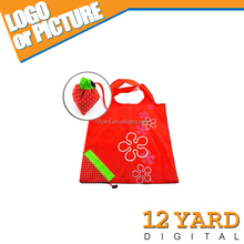 fruit shape trolley handle reusable shopping environment handle bag