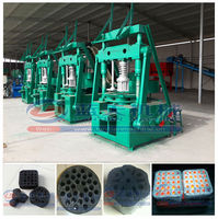 Honeycomb coal powder briquette molding machine/coal dust briquette making machine press