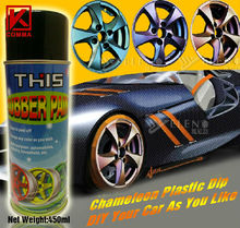 wonderful color rubber painting film spray
