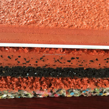 ALLMAY Stadium surface IAAF approved prefabricated rubber running track