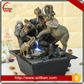Wedding gifts handicrafts elephant water fountain for sale