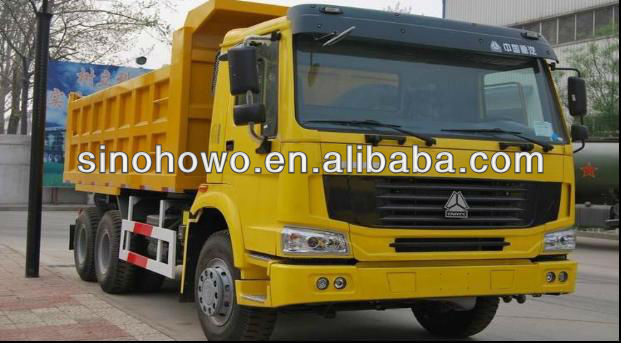 25 Tons 3-Shaft SINOTRUK HOWO 6x4 Dump Truck For Sale