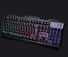Custom Layout and Color Metal Computer Keyboard With Backlighting