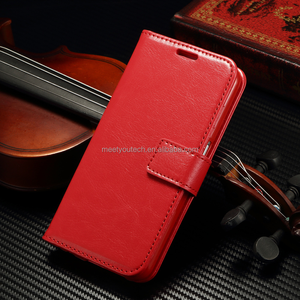 Retro Luxury Pull-up/Crazy horse leather case cover back for coolpad note 3 lite
