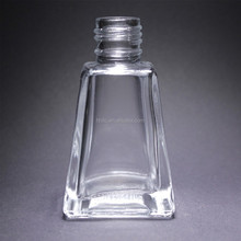 Reed diffuser square glass bottle with wooden top