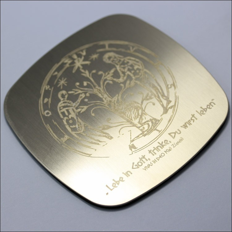 stainless steel coaster,heat resistant table pads, ss cup mat