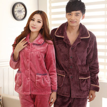 Adult Couple Philippines Flannel Sexy Winter Sleepwear Pajamas From China Factory