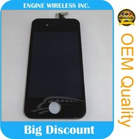 The factory directly mobile phone lcd for iphone 4s Touch Screen white