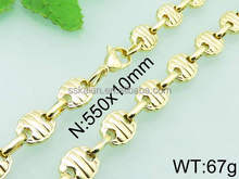 wholesale hot products 18k gold filled fishbone necklaces jewelry