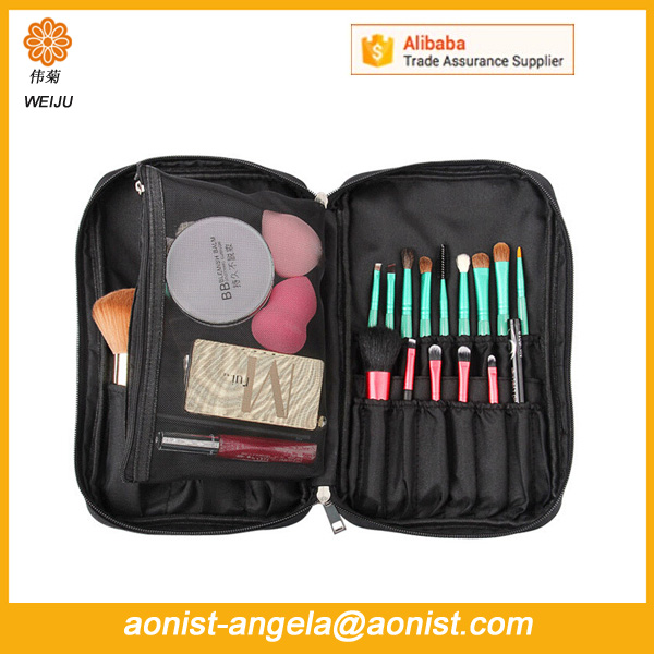 Fashional Travel Toiletry Storage Brush Organizer Small makeup Cosmetic Bag