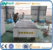 Shandong Drilling Wooden Door Design CNC Router Machine with DSP Controller for Furniture