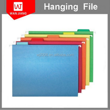 Shenzhen factory oem fc a4 a5 size paper file document hanging folder
