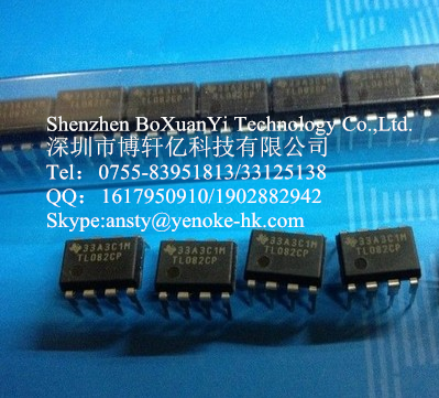 Operational Amplifiers TL082 TL082CP 3MHZ DIP8
